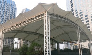Sioen Industries tensile architecture